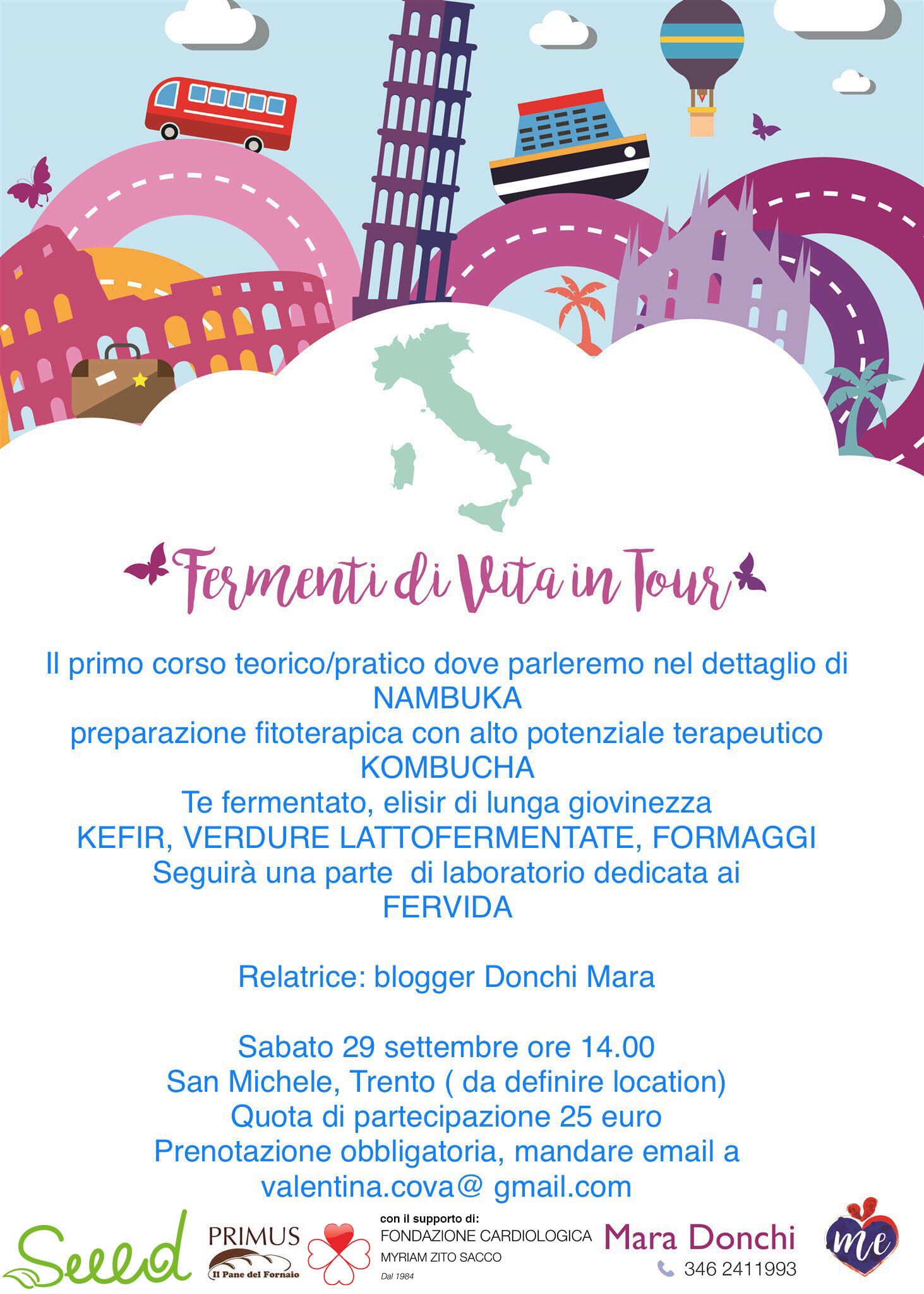 TOUR FERMENTI DI VITA TRENTINO ALTO ADIGE 29 settembre