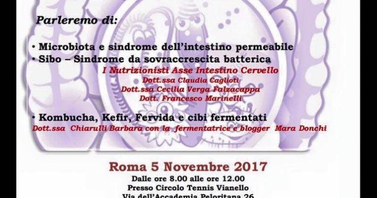 FERMENTI DI VITA IN TOUR autunno-inverno 2017 ROMA