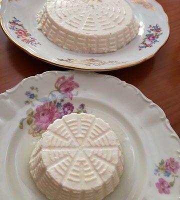 RICOTTA E PRIMO SALE con siero di kefir di latte