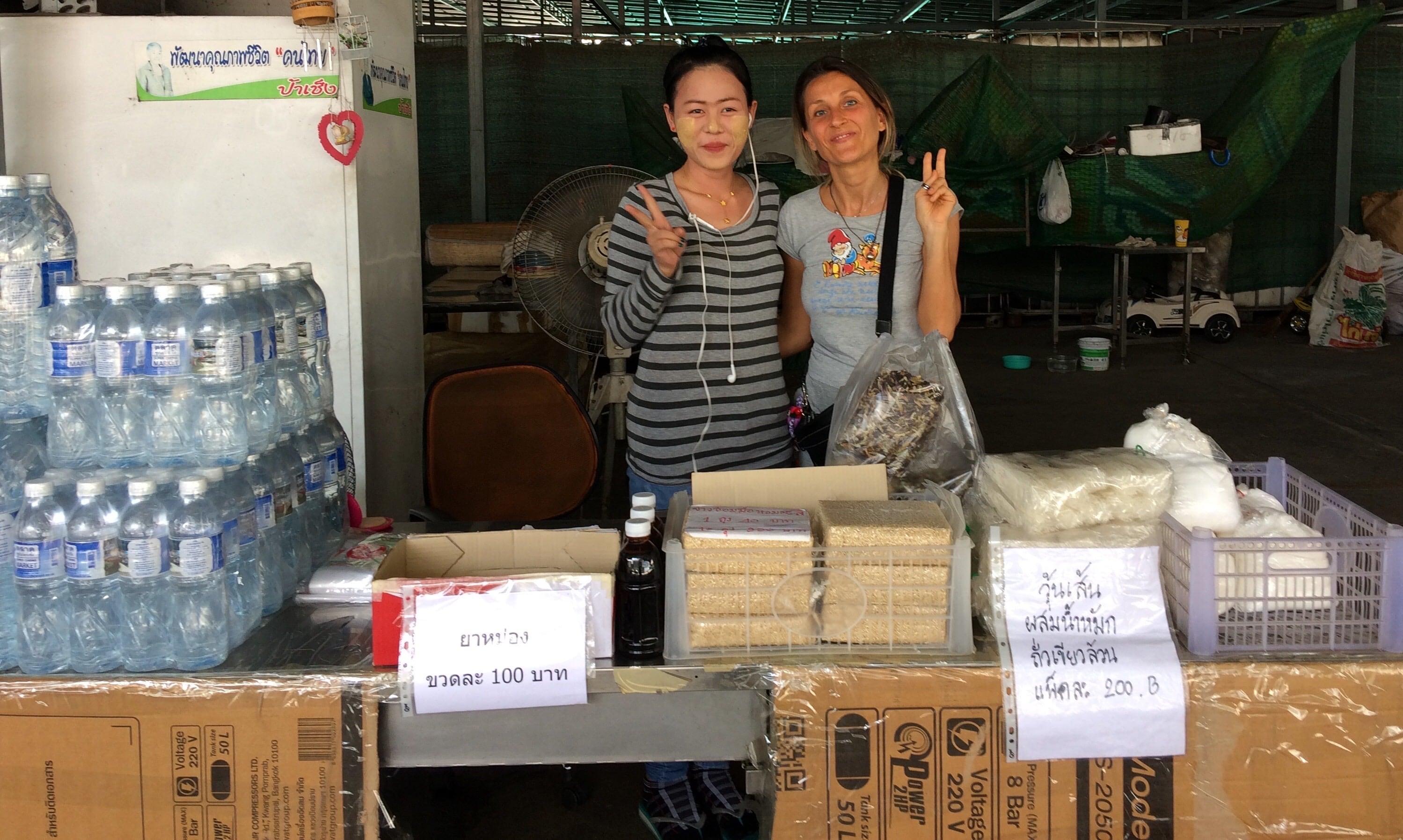 COME SI ARRIVA AL MERCATINO DI PA CHENG IN THAILANDIA?