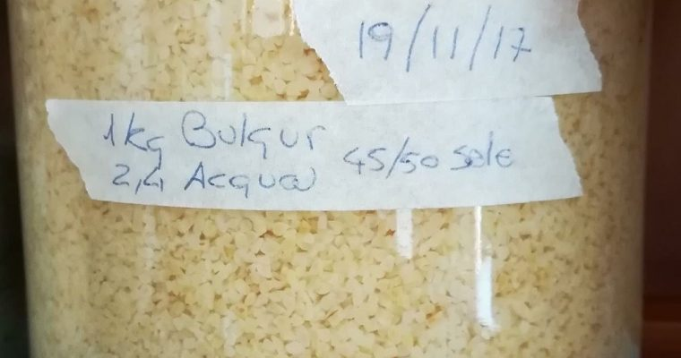 KECHEK : formella con cereale BULGUR