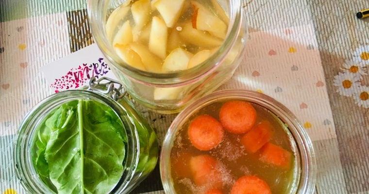 METODO LIEVITANDO FDV N. 5 con verdura e frutta fermentata in Tibicos 🍌🥕🍞❤️