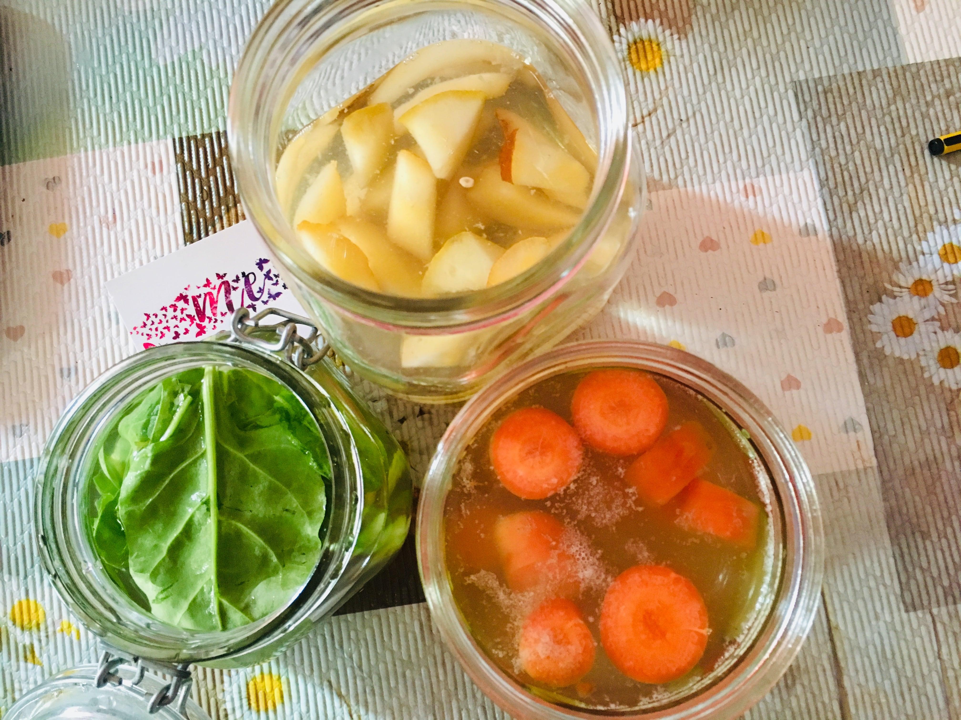 METODO LIEVITANDO STARTER  5  con VERDURA e FRUTTA fermentata in tibicos🍞🍎🥕
